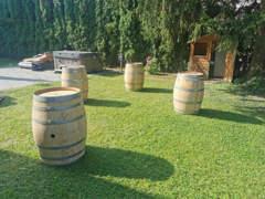 33898 Holzfässer 225 Liter als Deko