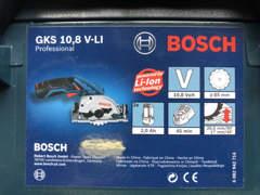 34338 Handkreissäge Bosch GKS Akku