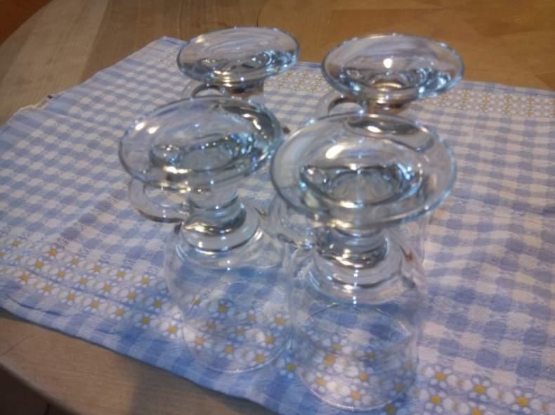 3662 20 Gläser für Kafi Schnaps