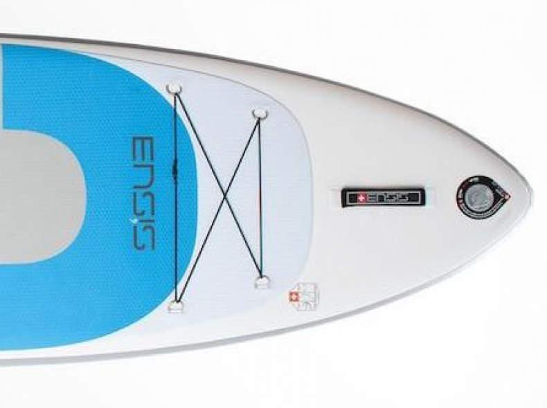 34592 SUP Board mit 3 Finnen + Paddel
