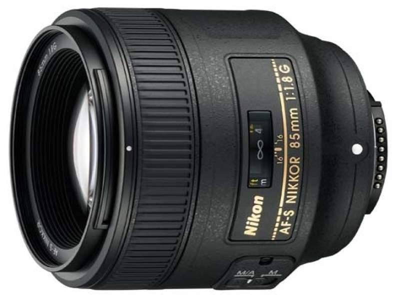 3694 Nikon AF-S 85mm F/1.8 G