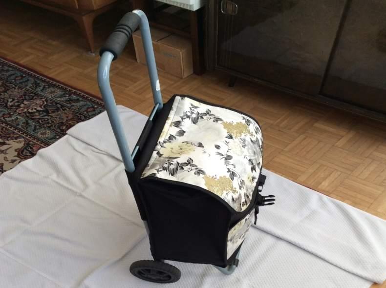 3697 Einkauf-Trolley klein, grosse Räder