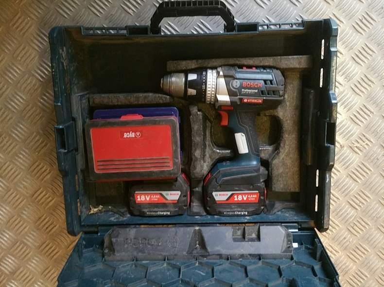 3708 Akkuschrauber Bosch 18 Volt