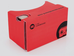 3899 VR-Headset - Cardboard V2 (rot)
