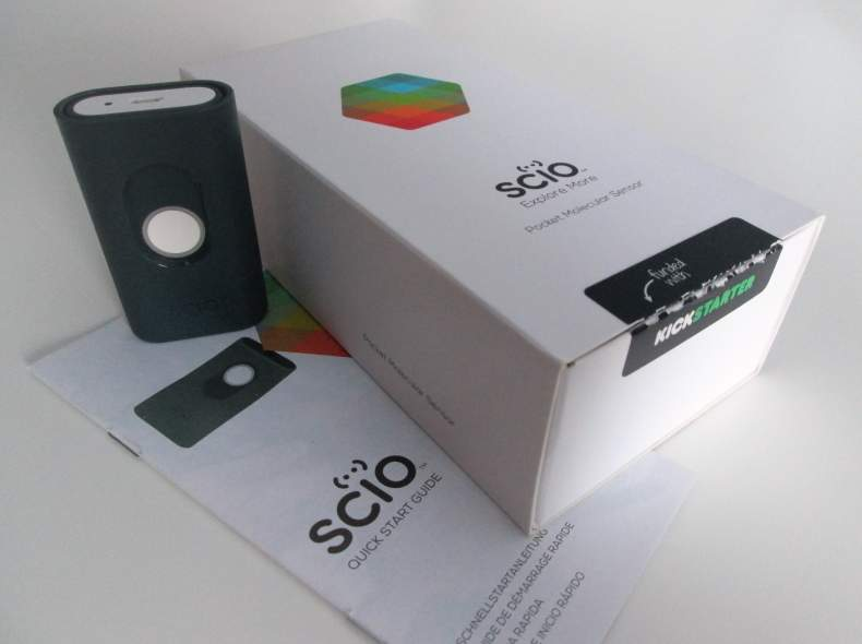 3902 Kickstarter - SCIO, MolecularSensor
