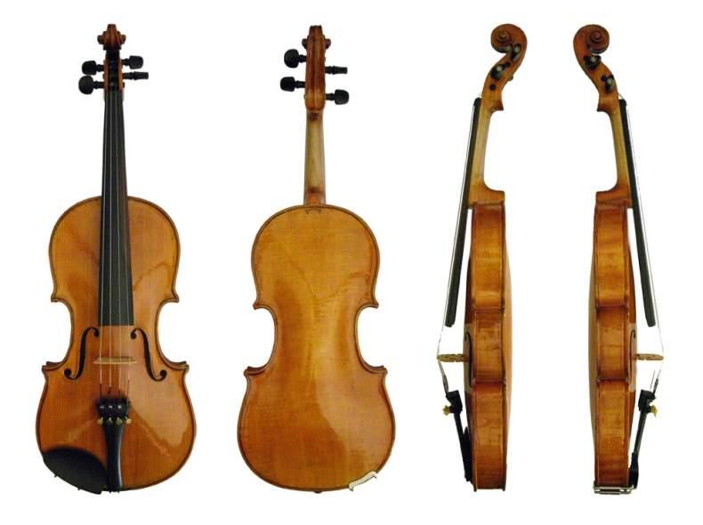 3909 Gut klingende 1/2-Geige