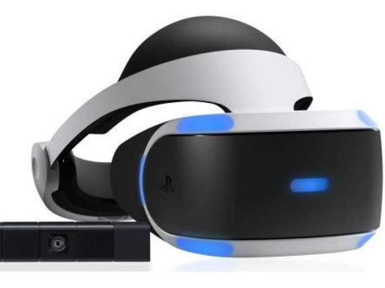 3781 PS4 VR-Brille + PS4 Camera + Games