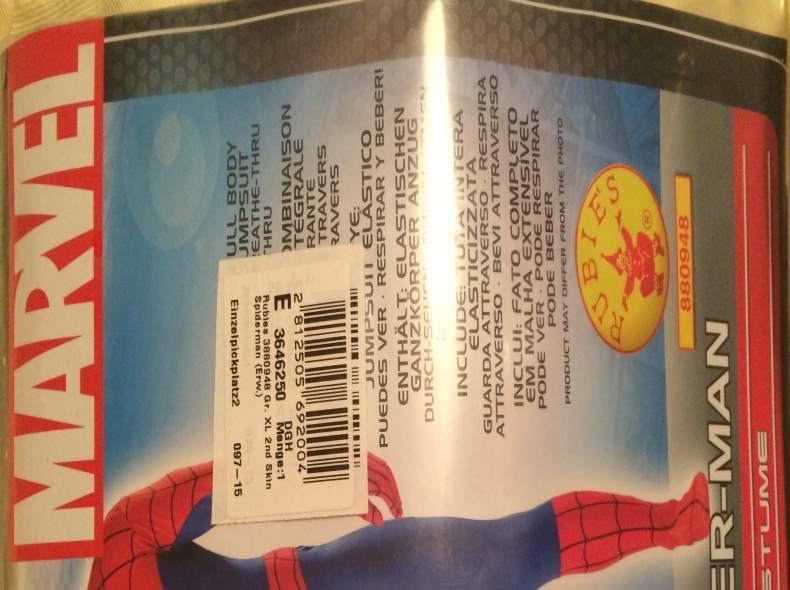 3966 Spidermankostüm