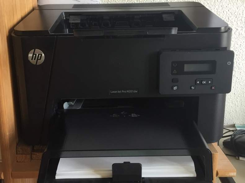 4025 Drucker LaserJet Pro M201dw