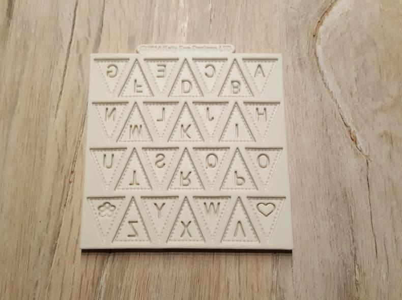 4079 Silikonform Alphabet