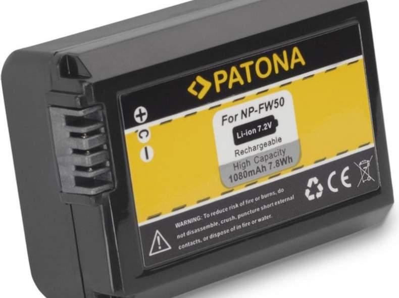 4135 Patona Akku für Sony NP-FW50