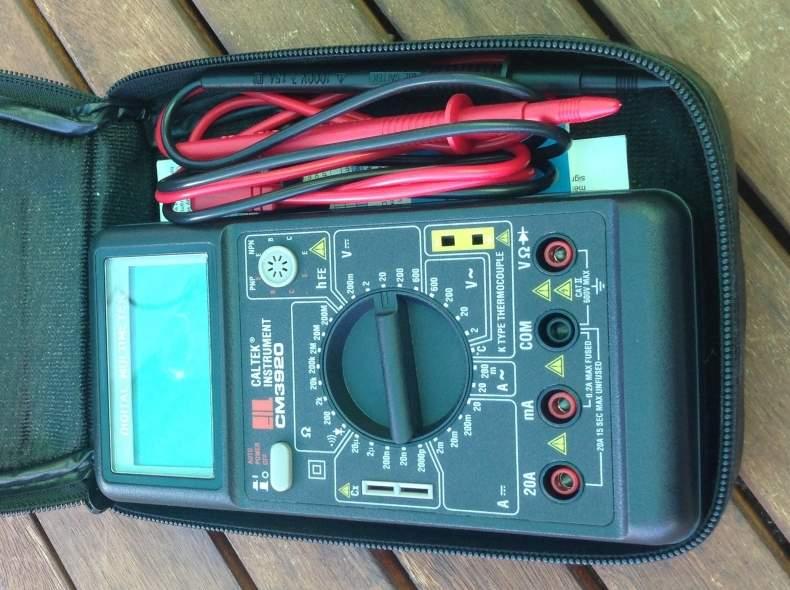 4189 Caltek Digital-Multimeter