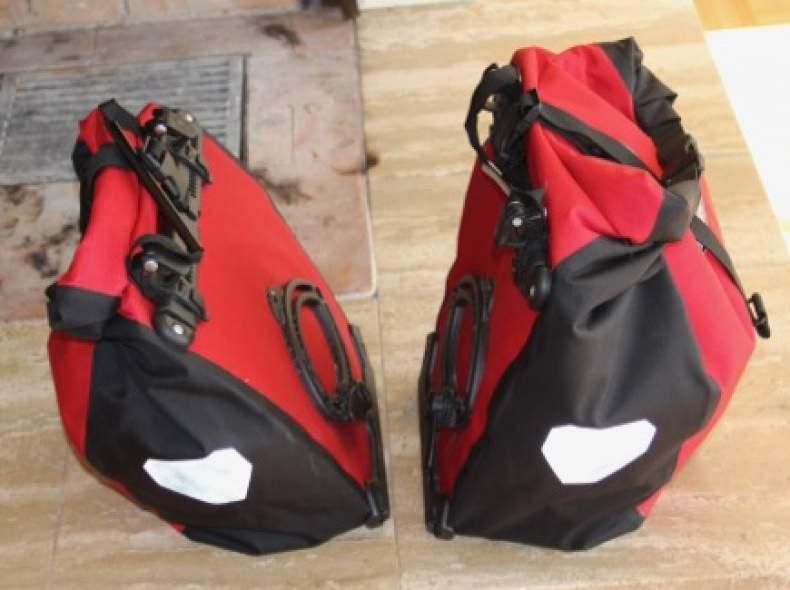4294 2 Fahrrad-Gepäcktaschen
