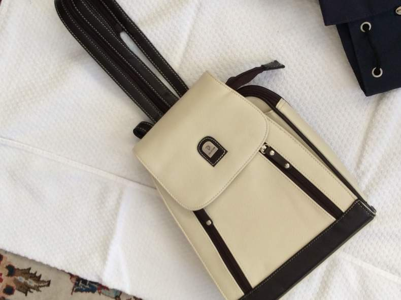 4304 Rucksack statt Handtasche