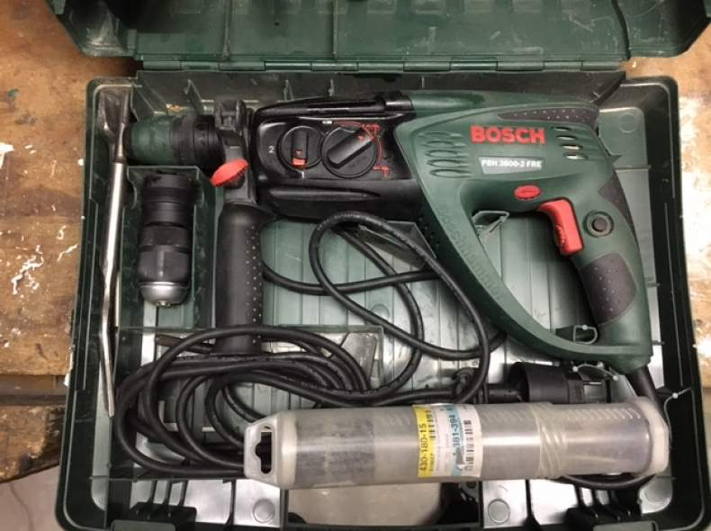 4308 Bohrhammer Bosch mit diversen Meiss