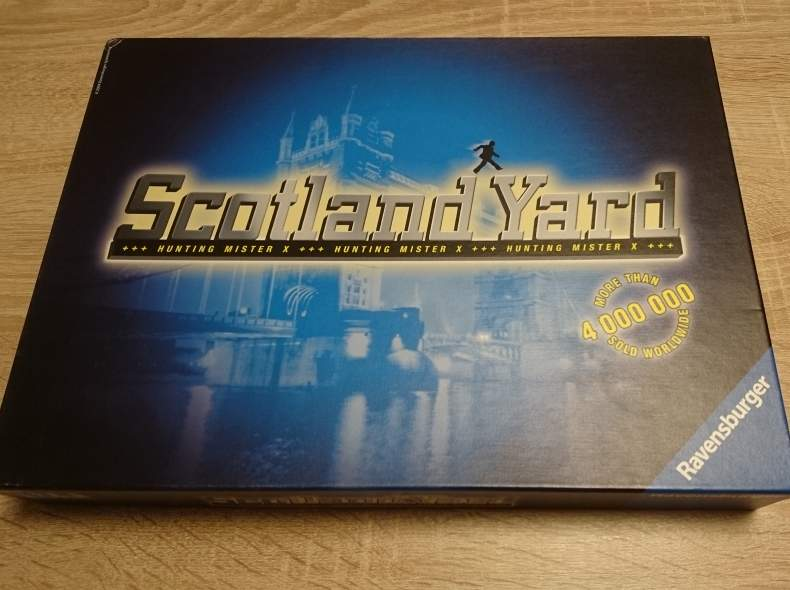 4331 Scotland yard Brettspiel
