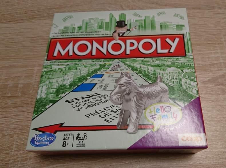 4333 Monopoly Reise Grösse (Brettspiel)