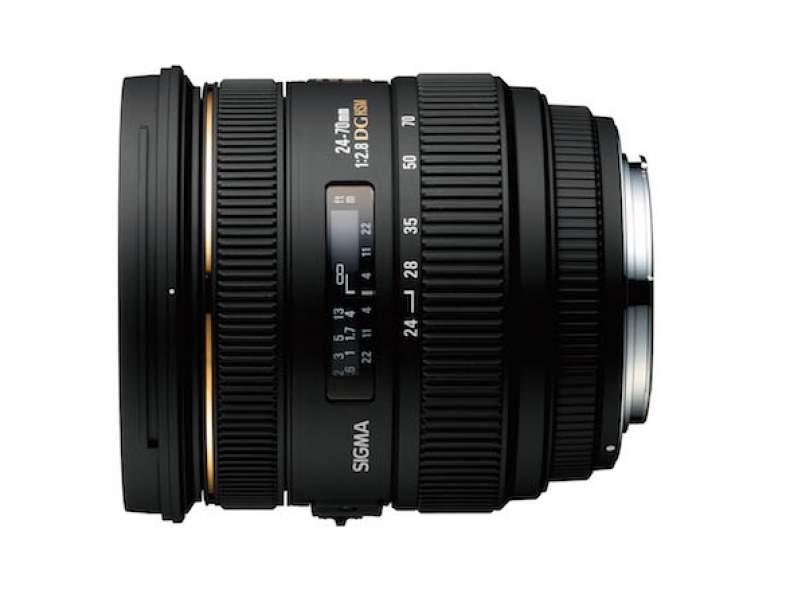 4546 SIGMA 24-70mm F2.8 EX DG - Canon