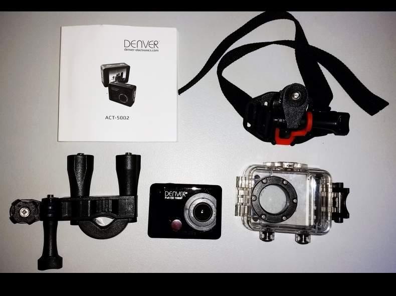 4633 Full HD Action Cam mit Zubehör