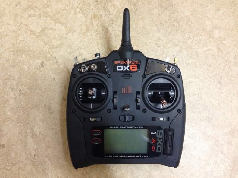 4673 Fernsteuerung Spektrum DX6