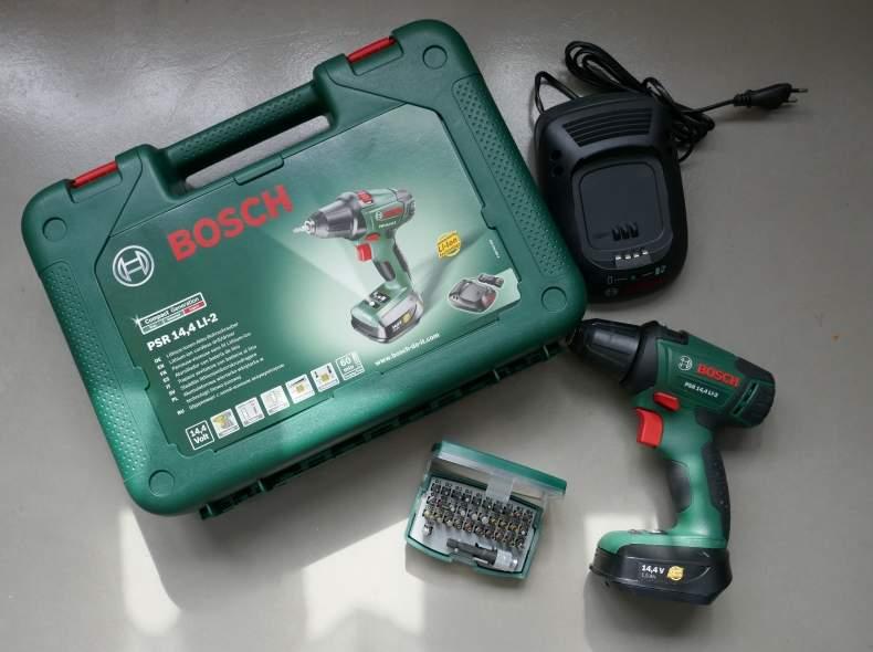 4681 BOSCH Akku-Schrauber PSR 14.4 V