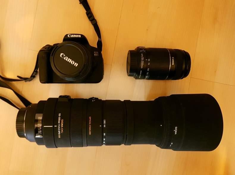 4837 Canon 650D mit 3x Objektiv