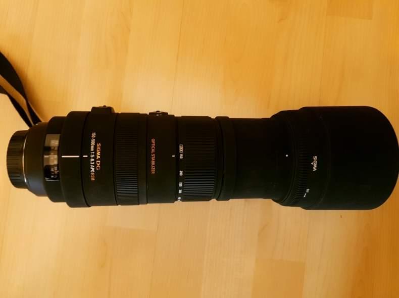 4838 SIGMA 150-500mm, f/5-6.3 (Canon)