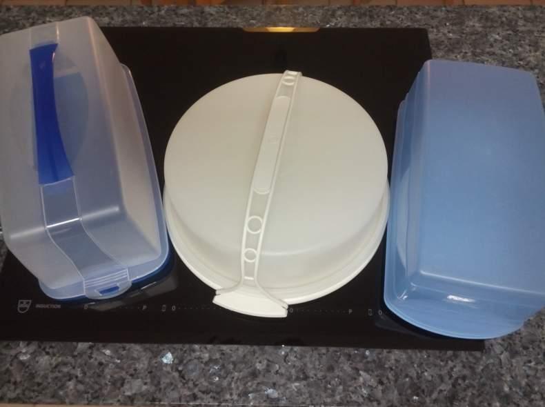 4843 Kuchenbehälter (einer von drei)