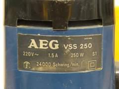 4955 Exzenterschleifer AEG VSS 250
