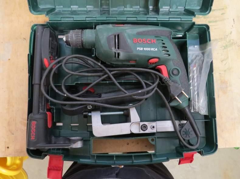 4957 Bosch Schlagbohrmaschine PSB 1000