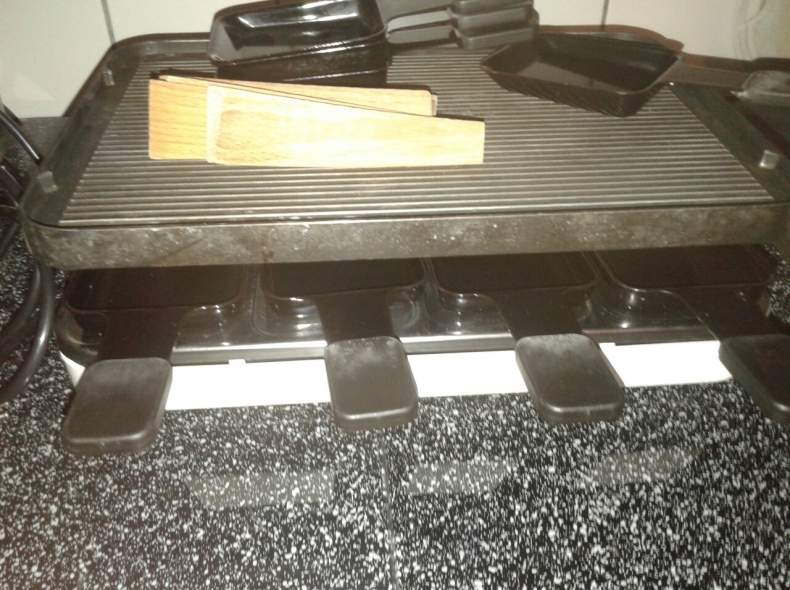 5050 Tischgrill / Raclette