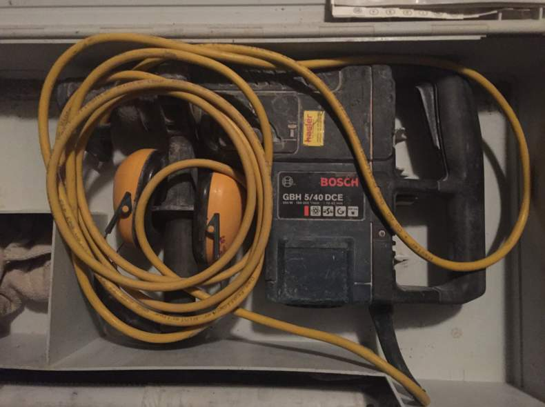 1988 Bosch Bohrhammer GHB 5/40 DCE