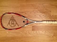 11 Dunlop Rapid 130 Squash Schläger
