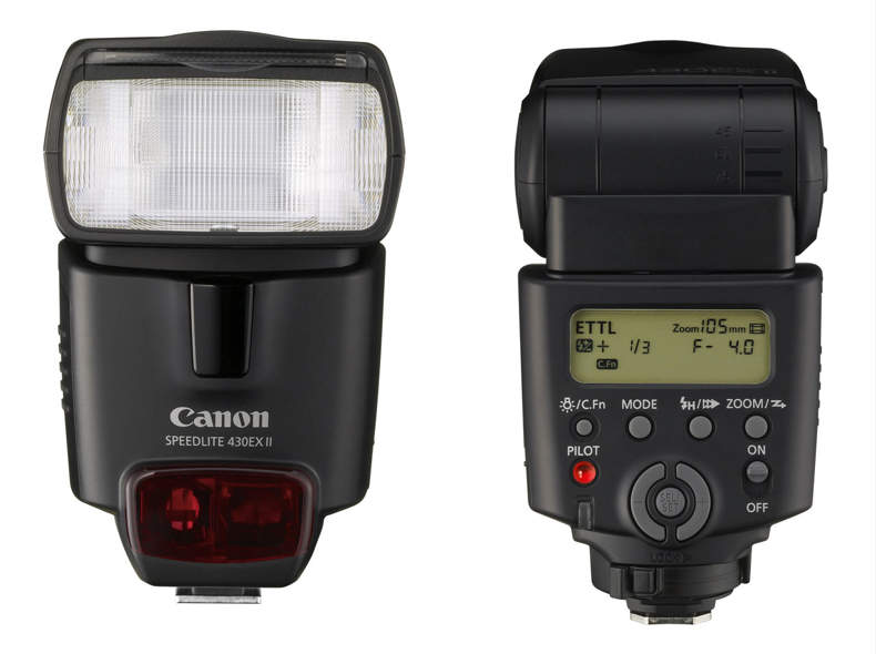 55 Blitzgerät Canon Speedlite 430EX II