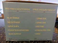 164 Schoggi - Fondue Set