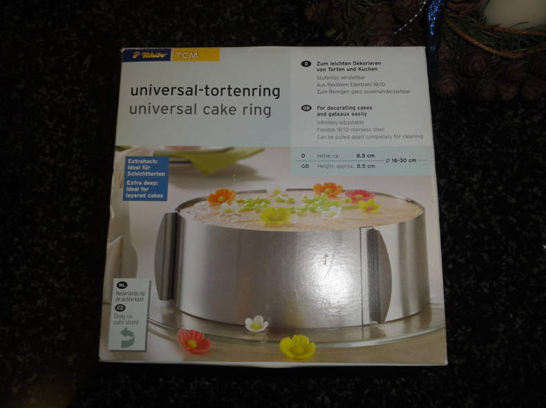 172 Universal Tortenring