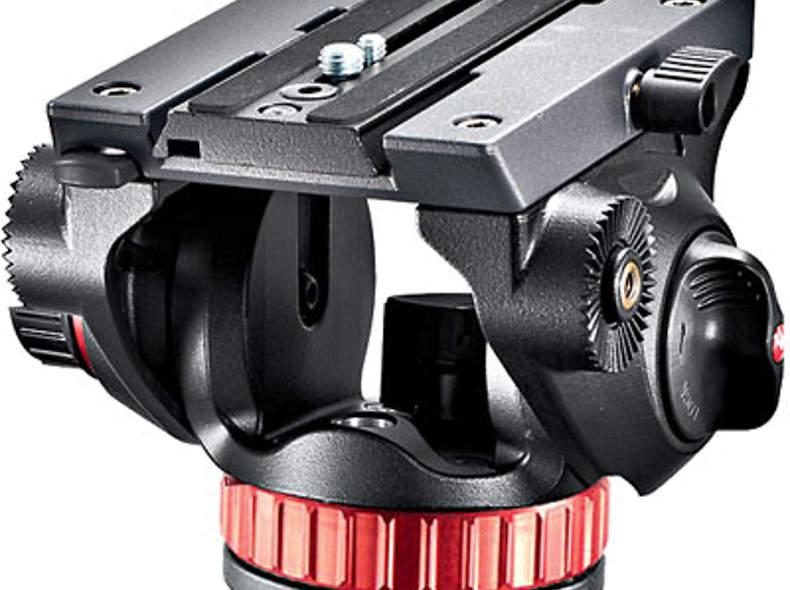 320 Manfrotto Pro Videohead MVH502AH