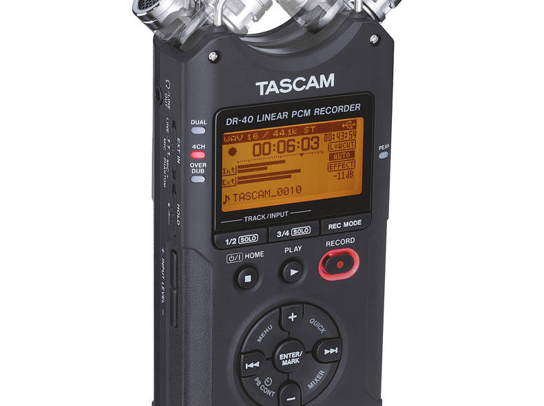 341 Audioaufnahmegerät Tascam DR-40