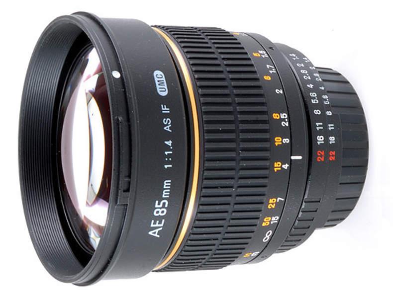 352 Samyang 85mm f1.4  für Nikon Mount