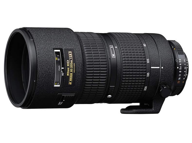 355 Nikon ED 80-200 f2.8D