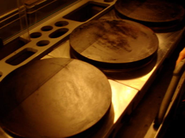 398 Crêpes-Platten