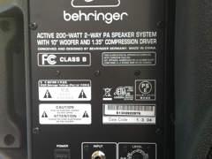 492 Lautsprecher-Set (2 Stück) / PA-Box