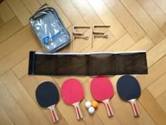595 Ping Pong Set mit Bällen und Netz