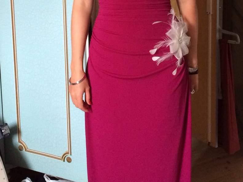 630 Abendkleid schlicht und elegant