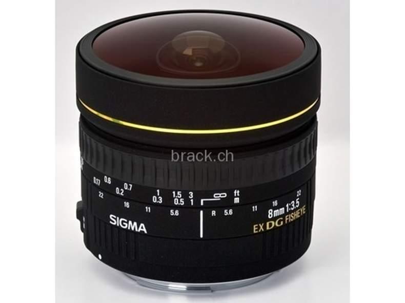 711 Sigma 8.0mm f / 3.5 EX DC (Canon)