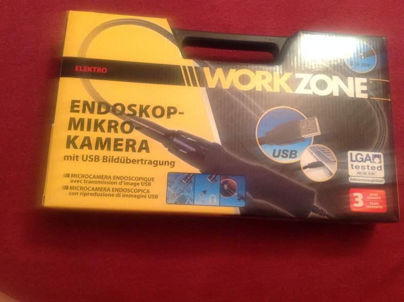 764 Endeskop-Mikro Kamera (USB)