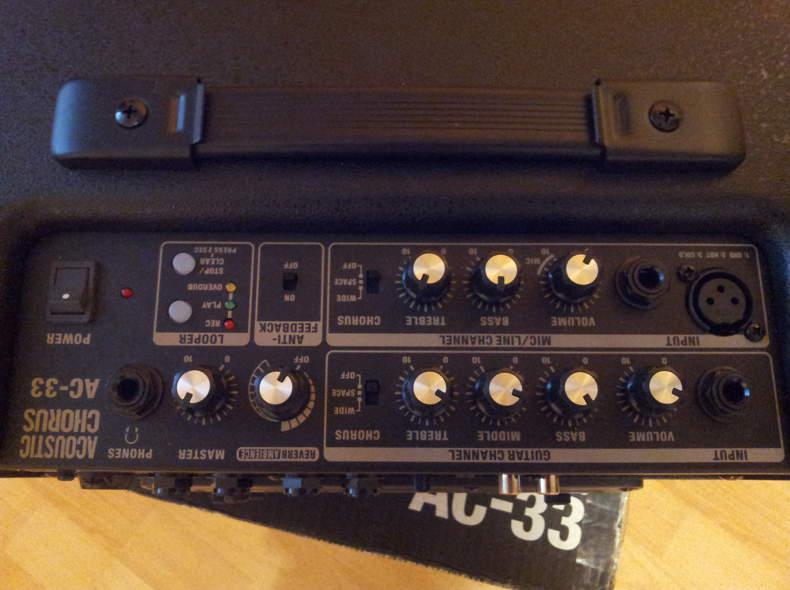 872 Gitarren / Mikrofon AMP
