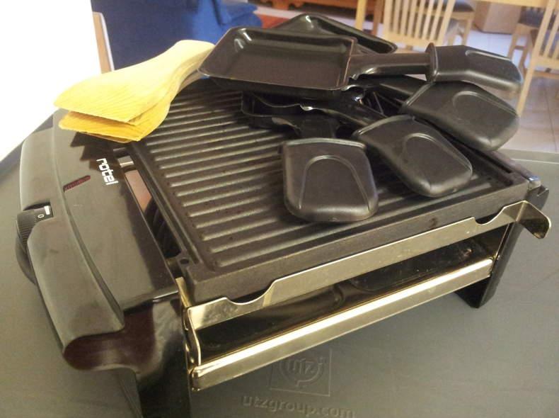 876 Raclette - und Grill für 4 Personen