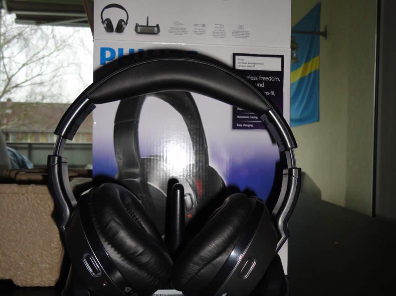 1072 Funkkopfhörer Philips SHC8535