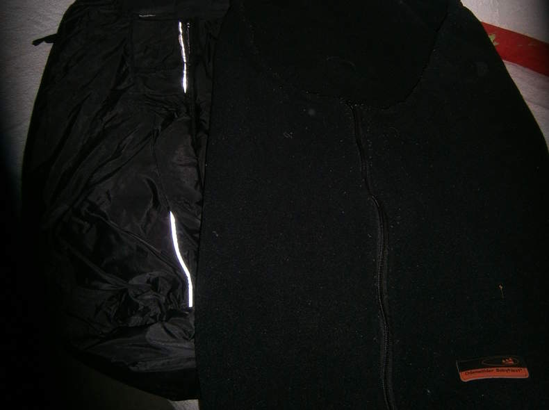 1159 Fusssack schwarz 2 in 1